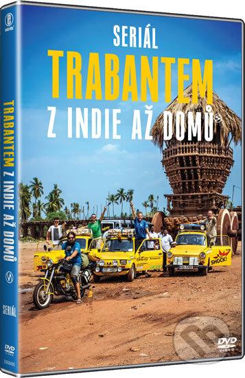 Trabantem z Indie až domů DVD