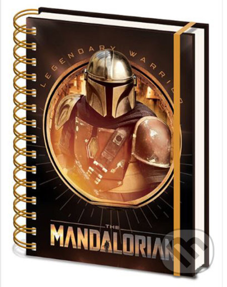 Zápisník A5 STAR WARS: The Mandalorian / Bounty Hunter -