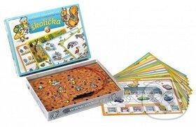Školička 3 - společenská hra na baterie v krabici - Bonaparte