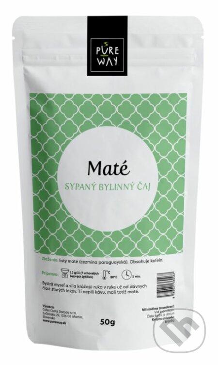 Maté - sypaný bylinný čaj - Pure Way