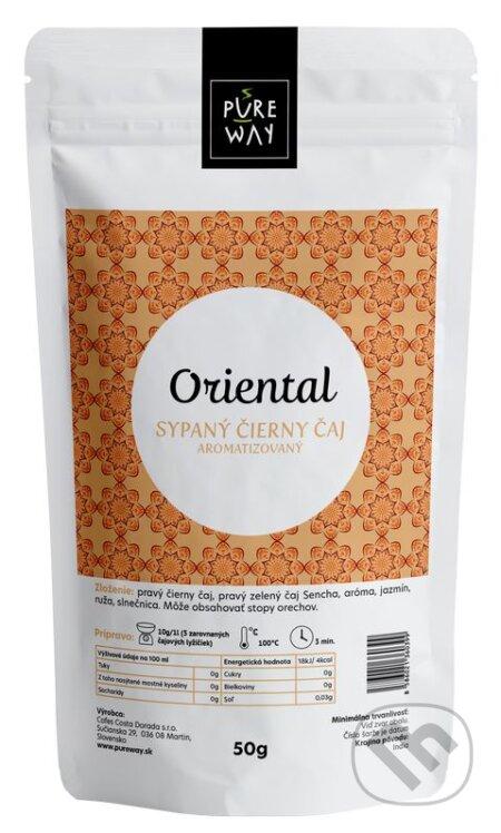 Oriental - sypaný čierny čaj aromatizovaný - Pure Way