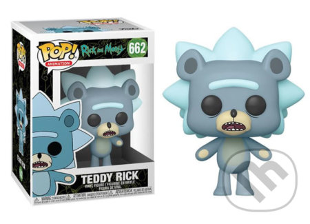 Funko POP Animation: Rick & Morty - Teddy Rick w Chase -