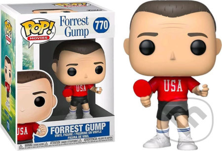 Funko POP Movies: Forrest Gump - Forrest (Ping Pong Outfit) - Funko