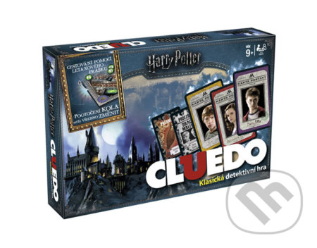 Cluedo: Harry Potter CZ -