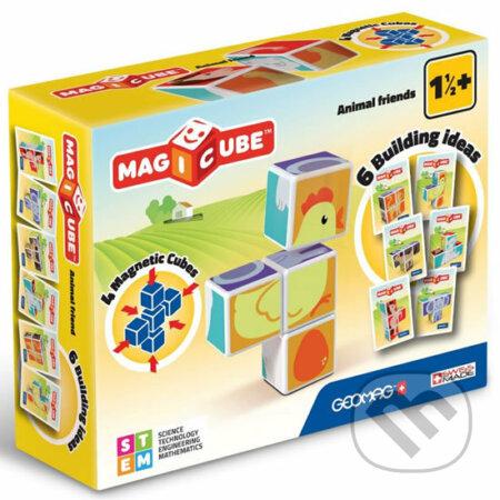 Geomag Magicube - zvířátka - Geomag