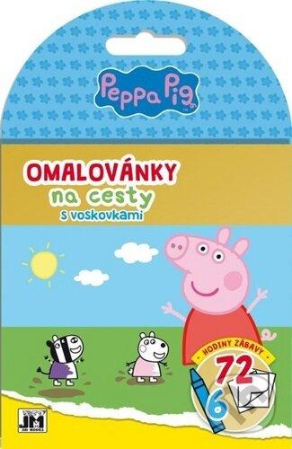 Omalovánky na cesty: Peppa Pig - Jiří Models
