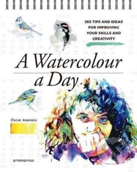 Watercolour a Day - Oscar Asensio