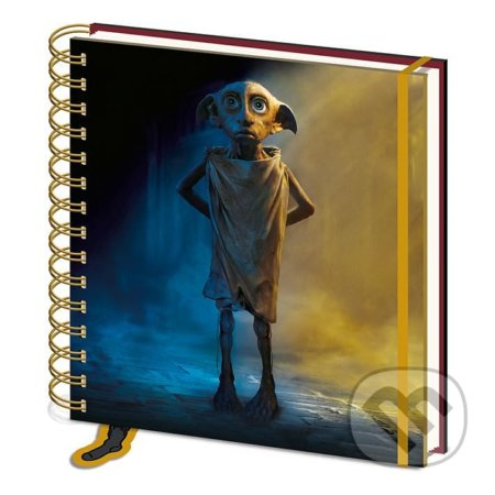 Čtvercový zápisník Harry Potter - Dobby - Fantasy