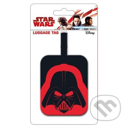 Visačka na zavazadla Star Wars - Helma Darth Vadera - Fantasy