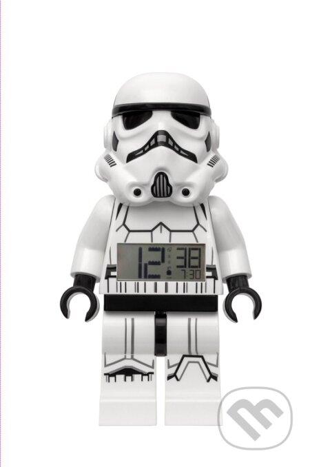 LEGO Star Wars Stormtrooper - hodiny s budíkem - LEGO