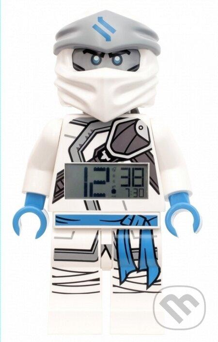 LEGO Ninjago Zane - hodiny s budíkem - LEGO