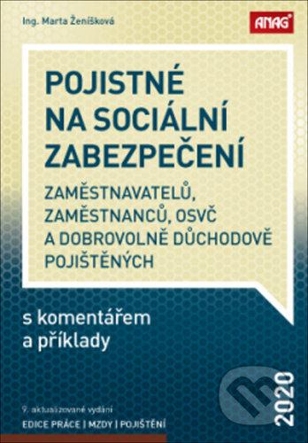 Removu.cz Pojistné na sociální zabezpečení zaměstnavatelů, zaměstnanců, OSVČ a dobrovolně důchodově pojištěných s komentářem a příklady 2020 Image