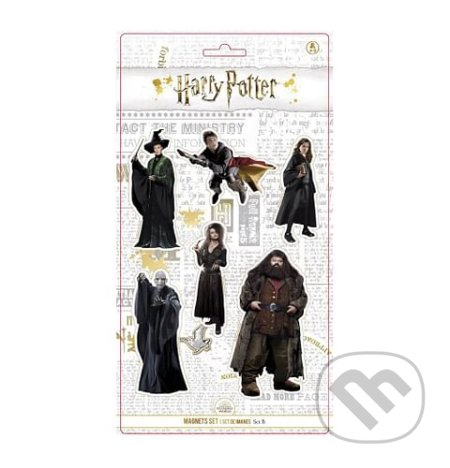 Sada magnetek Harry Potter - Set B -