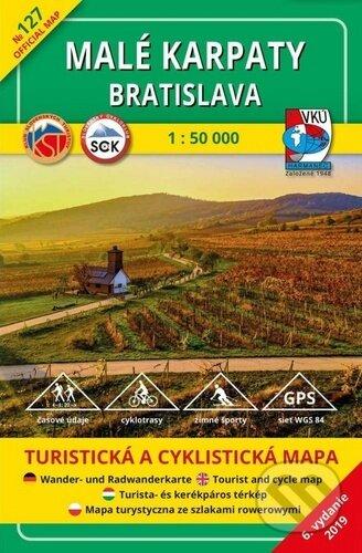 Fatimma.cz Malé Karpaty Bratislava 1 : 50 000 Image