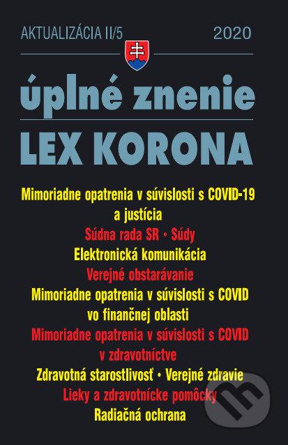 Fatimma.cz Aktualizácia II/5 2020 – Obchodné a občianske právo v čase koronavírusu Image