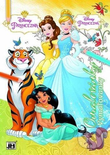 Omalovánky: Princezna
