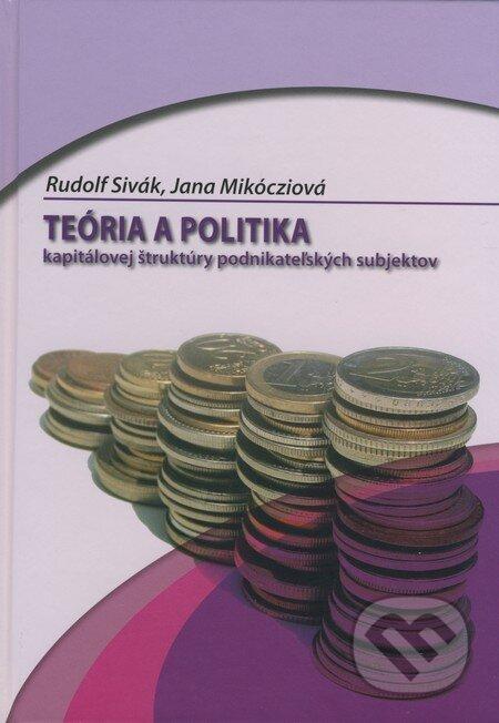Fatimma.cz Teória a politika kapitálovej štruktúry podnikateľských subjektov Image