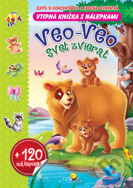 Veo-Veo Svet zvierat - Foni book