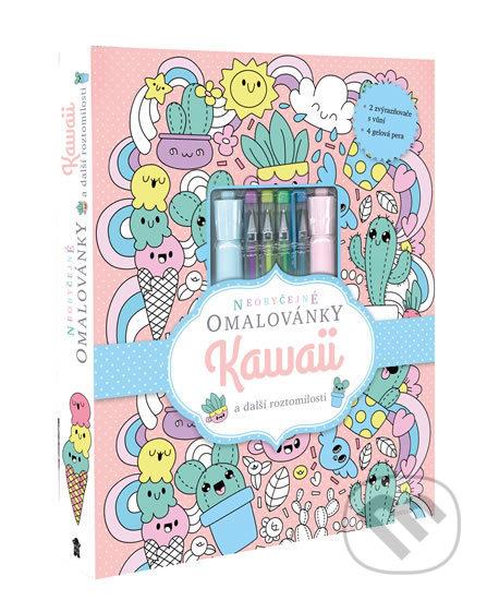 Neobyčejné omalovánky: KAWAII a další roztomilosti - Pikola