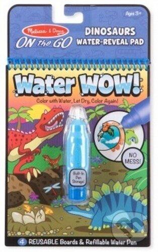 Kouzelné malování vodou: Dino omalovánky - Bonaparte