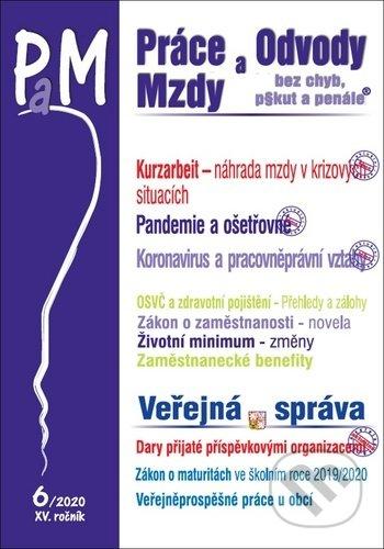 Fatimma.cz Práce, odvody a mzdy 6/2020 - Kurzarbeit, Pandemie a ošetřovné, Koronavirus a pracovněprávní vztahy, OSVČ - pojištění Image