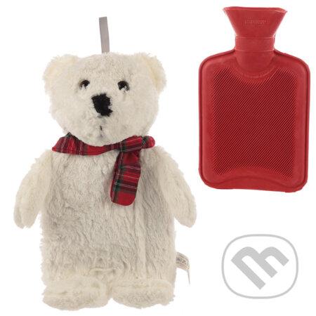 Plyšový termofor ľadový medveď
