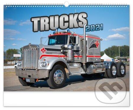 Nástenný kalendár Trucks 2021 - Presco Group