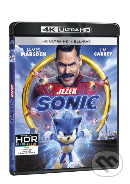 Ježek Sonic Ultra HD Blu-ray UltraHDBlu-ray