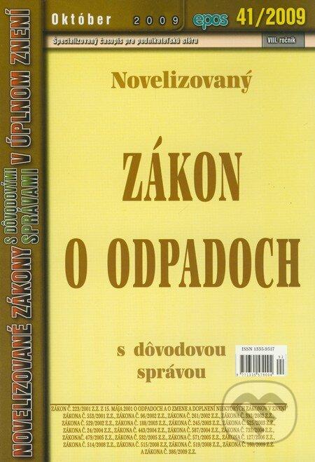 Fatimma.cz Novelizovaný Zákon o odpadoch 41/2009 Image
