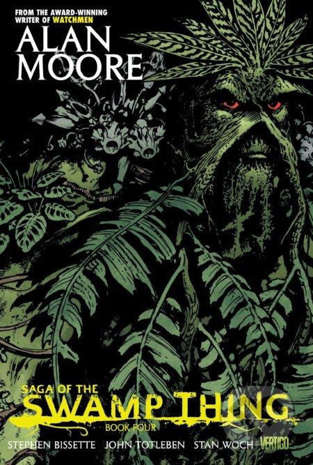 Saga of the Swamp Thing - Book 4 - Alan Moore