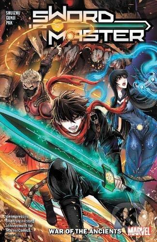 Sword Master 1: War Of The Ancients - Shuizhu, Greg Pak, Gunji (ilustrácie)