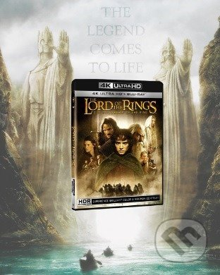 Pán prstenů: Společenstvo prstenu Ultra HD Blu-ray UltraHDBlu-ray