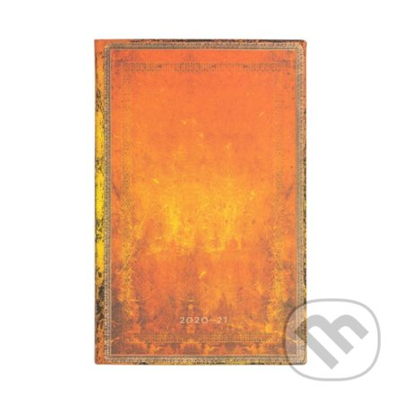 Paperblanks - diár Clay Rust 2020/2021 - Hartley and Marks