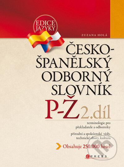 Fatimma.cz Česko-španělský odborný slovník, 2. díl Image