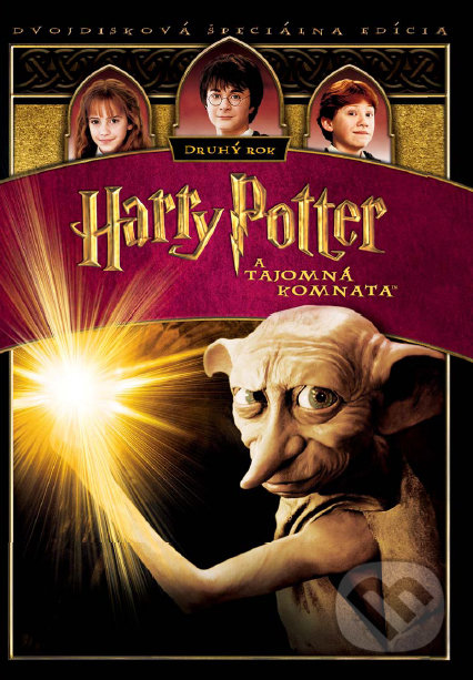 Harry Potter a Tajomná komnata (2DVD) - Chris Columbus