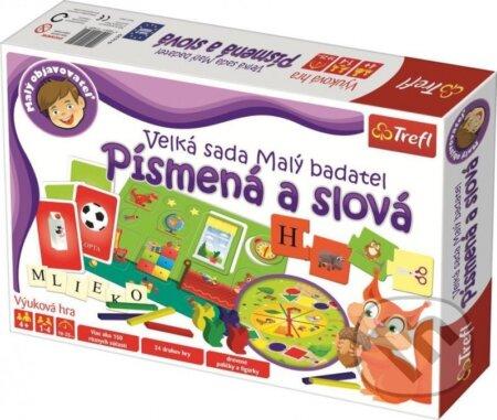 Edukačná hra: Malý objaviteľ Písmená a slová - Trefl