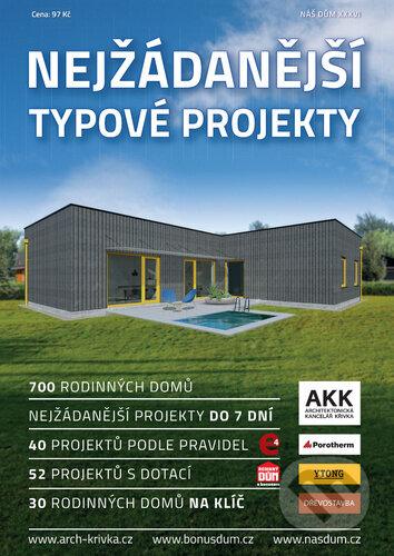 Nejžádanější typové projekty 2020 - Agentura Náš dům