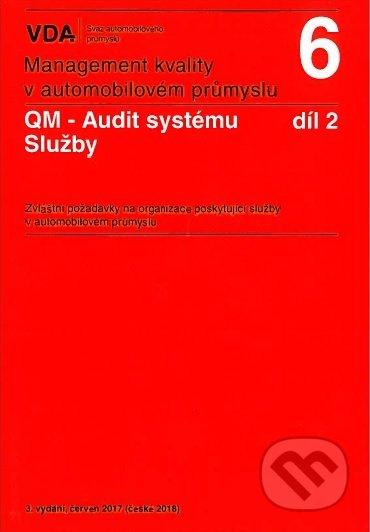 Management kvality v automobilovém průmyslu VDA 6 díl 2 - Česká společnost pro jakost
