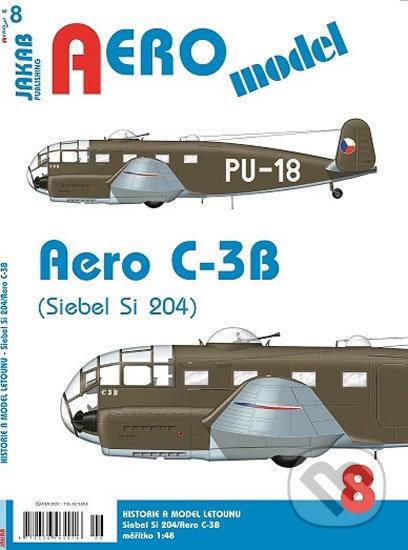 AEROmodel 8 - Aero C-3B ( Siebel Si 204) - Jakab