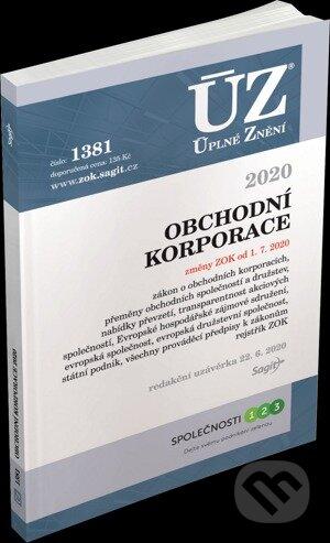 Úplné Znění - 1381 Obchodní korporace 2020 - Sagit