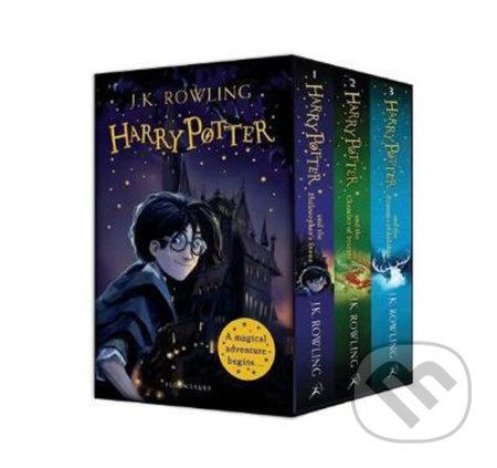 Harry Potter 1-3 Box Set - J.K. Rowling