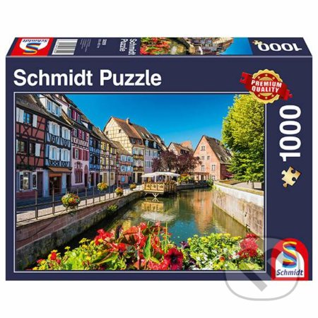 Little village with half-timbered houses - Schmidt