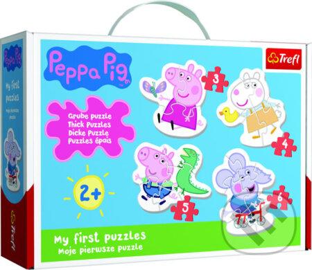 Baby puzzle Prasátko Peppa 4v1 - Trefl