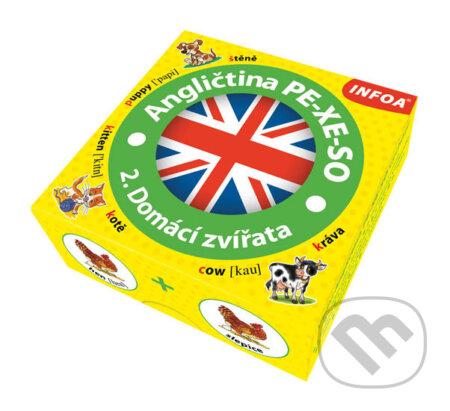 Angličtina PE-XE-SO 2. Domácí zvířata/Krabicová hra - INFOA