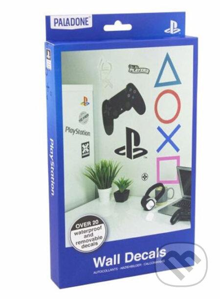 Samolepky Playstation: 4 listy - 22 samolepiek