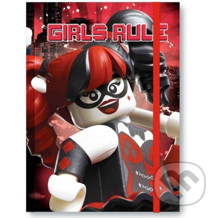 LEGO Batman Movie Zápisník (Harley Quinn/Batgirl) - LEGO