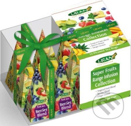 Čaj ovocný SUPER FRUITS COLLECTION 3x4x2g Liran pyramída - Liran