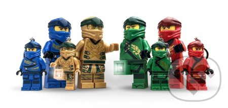 LEGO Ninjago Legacy Zlatý Ninja svítící figurka - LEGO
