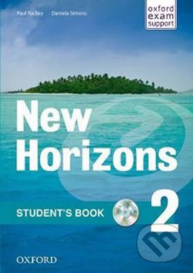 New Horizons 2: Student´s Book with CD-ROM Pack - Paul Radley