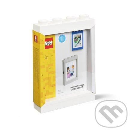 LEGO fotorámeček - bílá